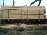 Доска и брус из России вагонами